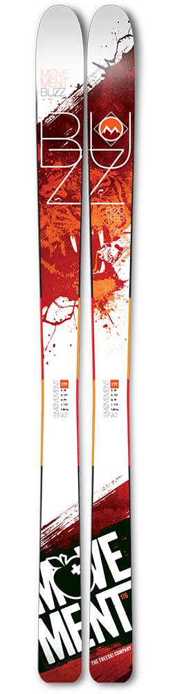 Movement Buzz Skis