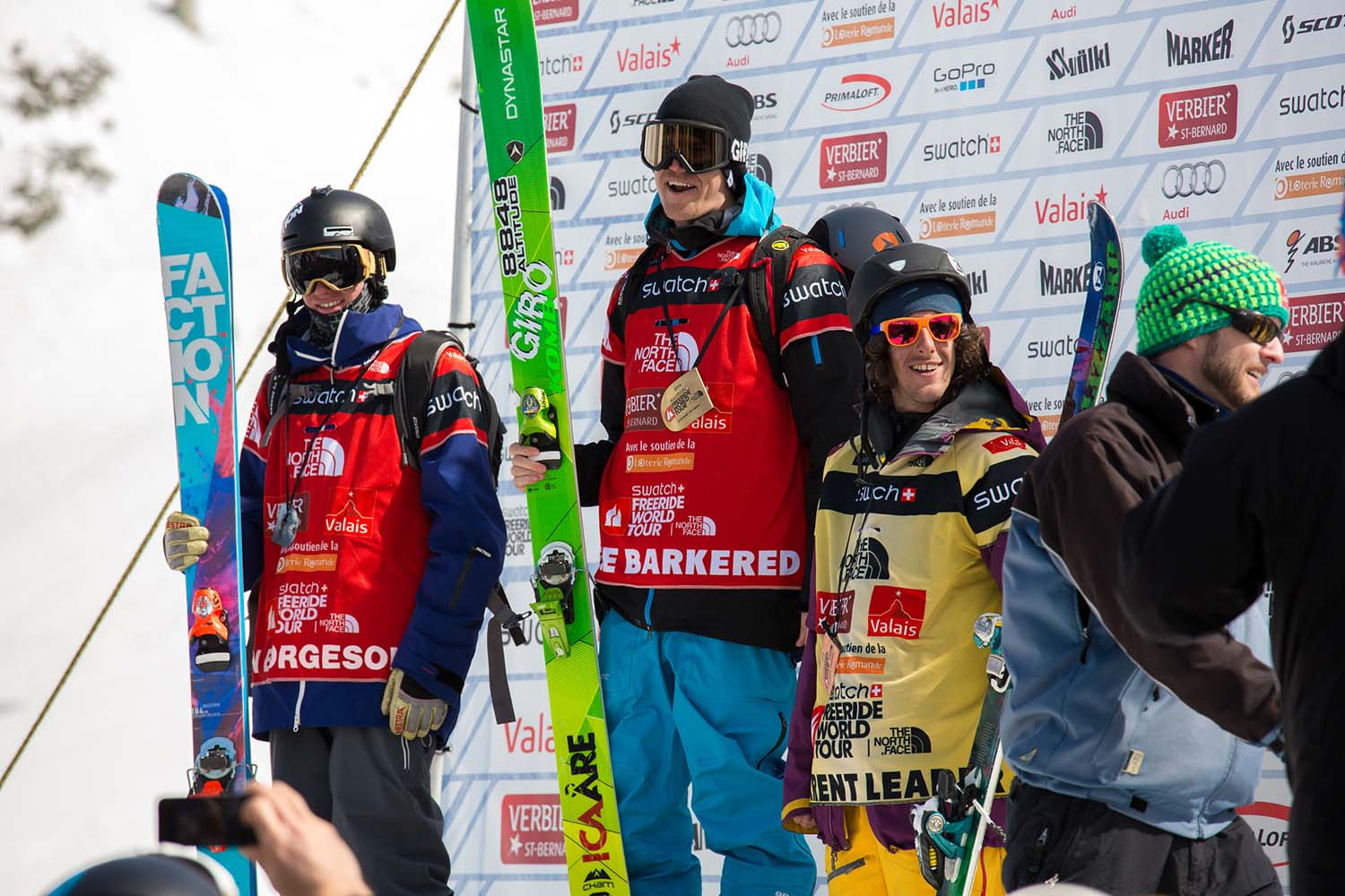 Mens Verbier Podium