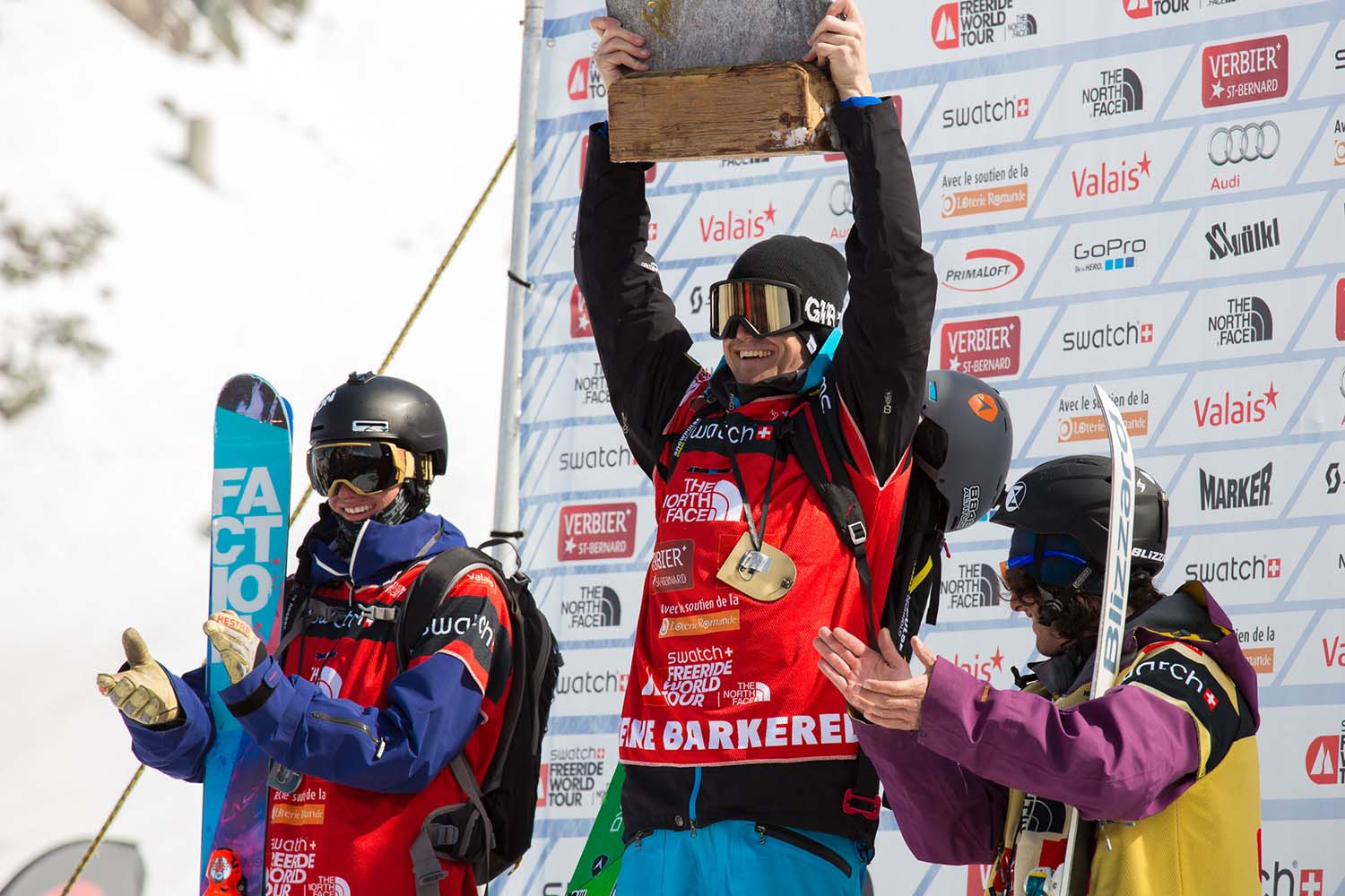 Mens Verbier Podium - Reine, Ian and Loic