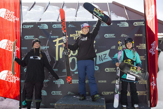 Top Score for Janina Kuzma, 4th NZ Open Podium for Taylor Seaton in Halfpipe