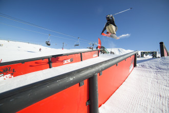 TNF Freeski Open Slopestyle Qualifiers Video