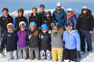 Junior Ski Racers Enjoy World-Class Training