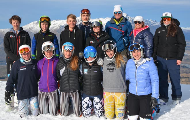 Junior alpine development camp credit Julie Rich July 2015