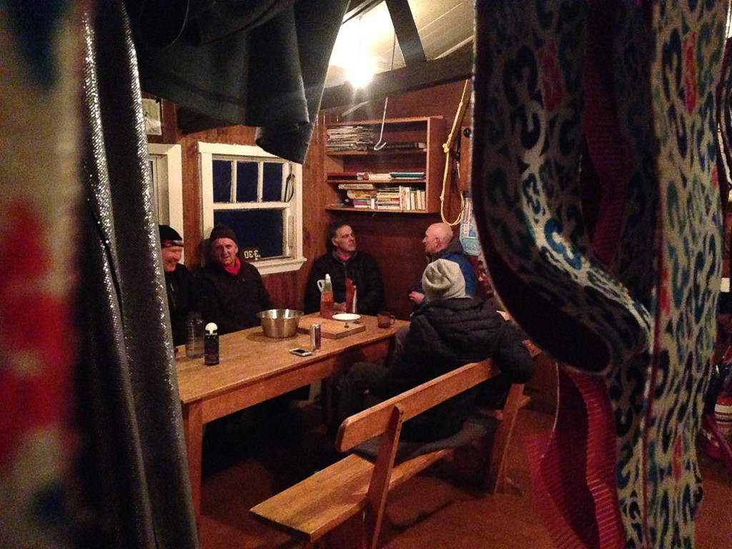 Yarning the night away in the time warp that is the Mt Robert lodges