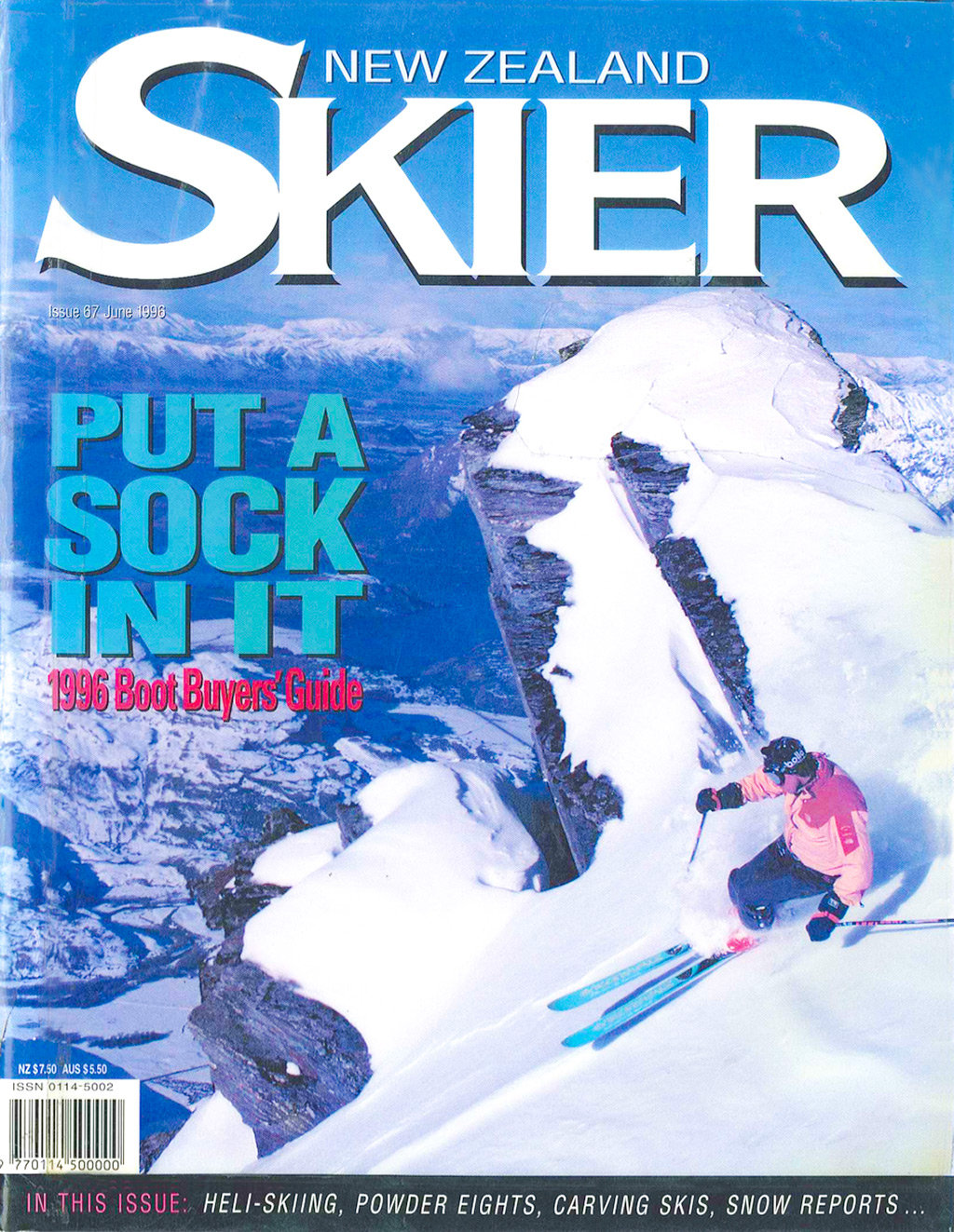 NZSkier_June1996_Cover