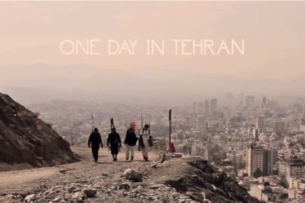 One day in Tehran